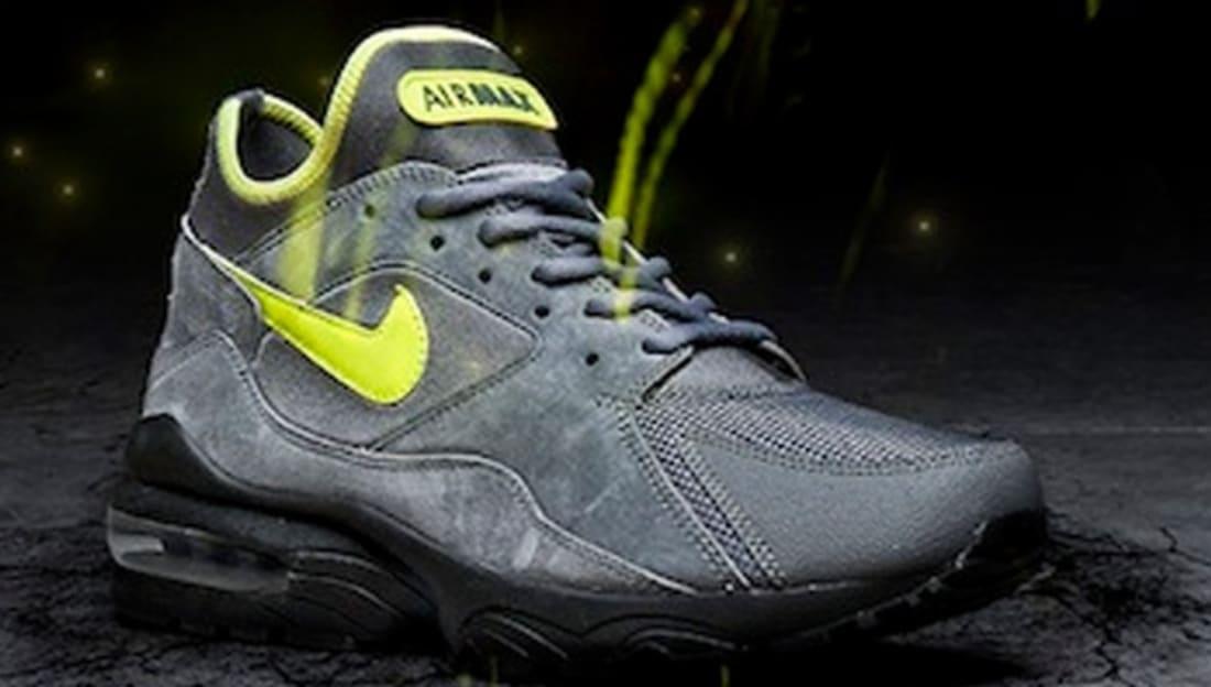 Nike Air Max  93 Graphite Volt-Black  10e10e849574