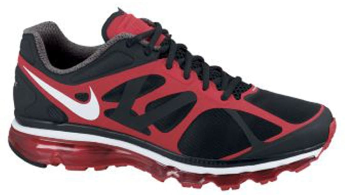 Nike Air Max+ 2012 BlackWhite Action Red | Nike | Sole