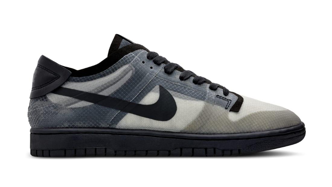 Comme Des Garcons x Nike Dunk Low Black/Clear-Black