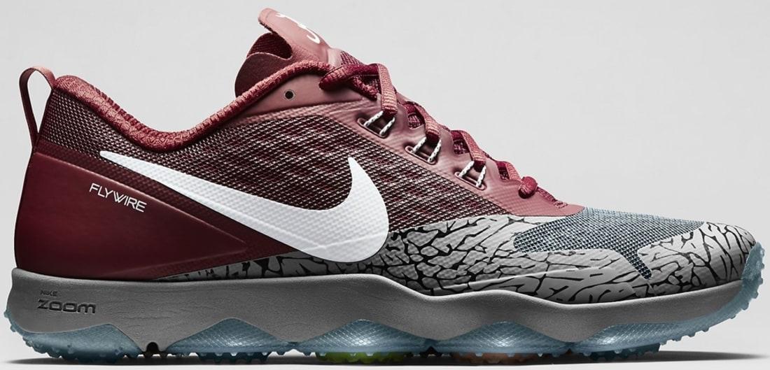 Nike Zoom Hypercross TR Dark Steel Grey/Team Crimson-White