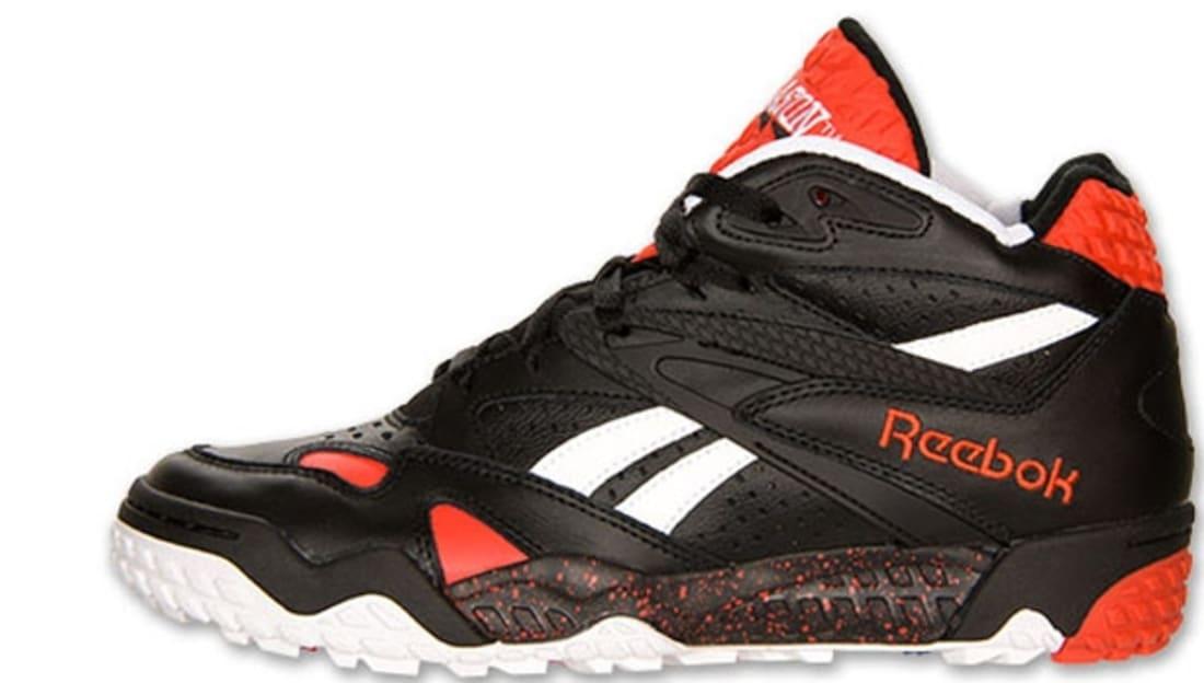 Reebok Scrimmage Mid Black/White-China Red