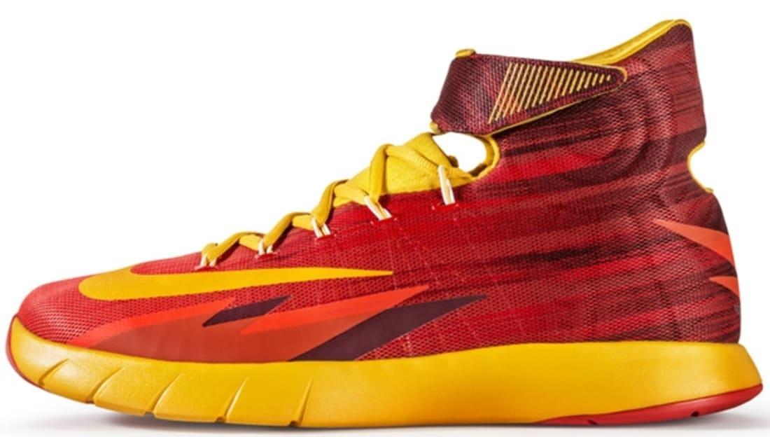 52915c1150d5 Nike Zoom HyperRev Light Crimson University Gold-Team Red