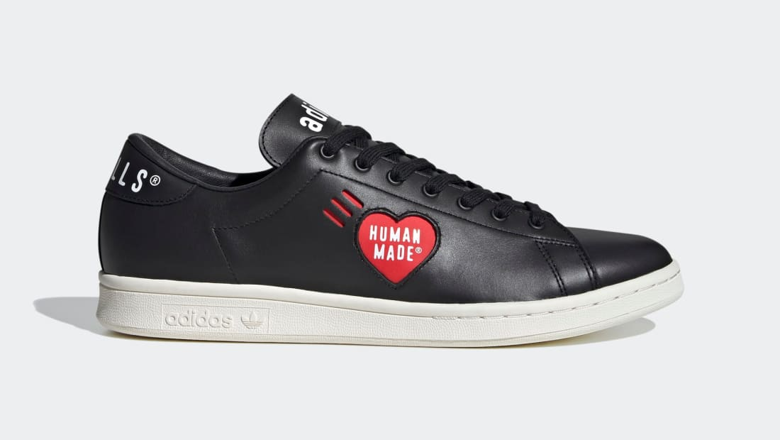 Human Made x Adidas Stan Smith Core Black/Cloud White/Off White