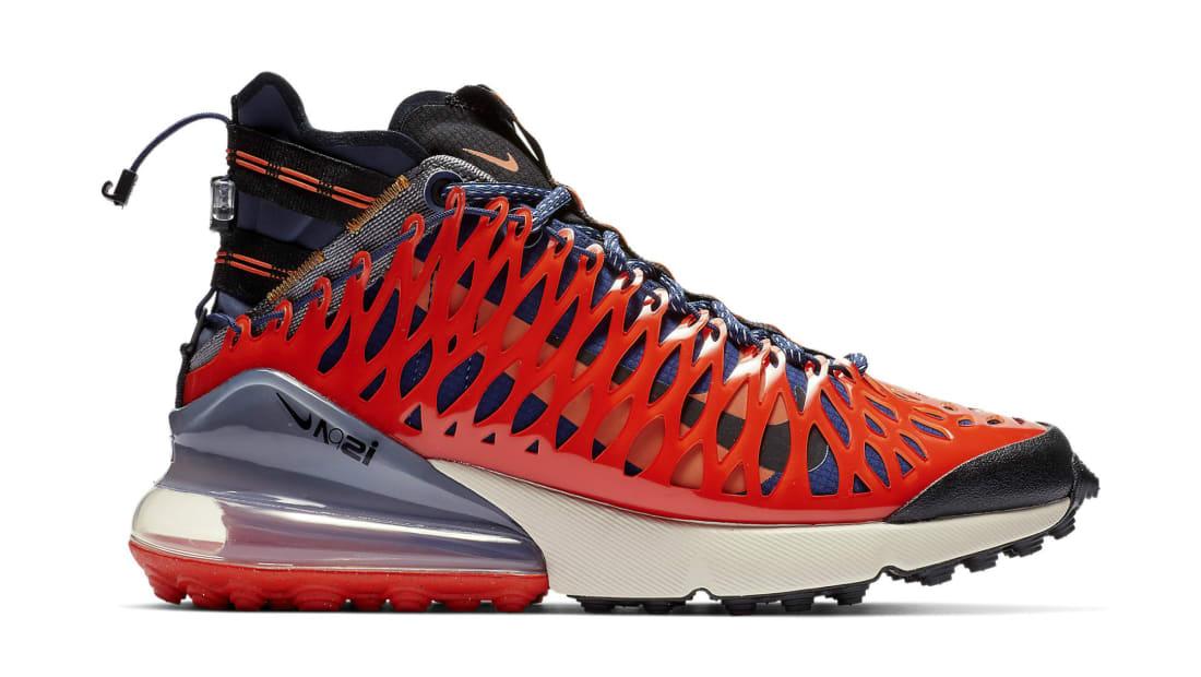 Nike Air Max 270 ISPA Blue Void/Terra Orange