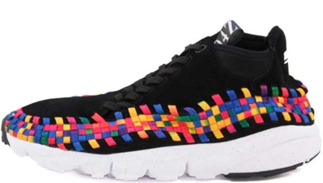 Nike Air Footscape Woven Chukka Premium QS Black/Black-White