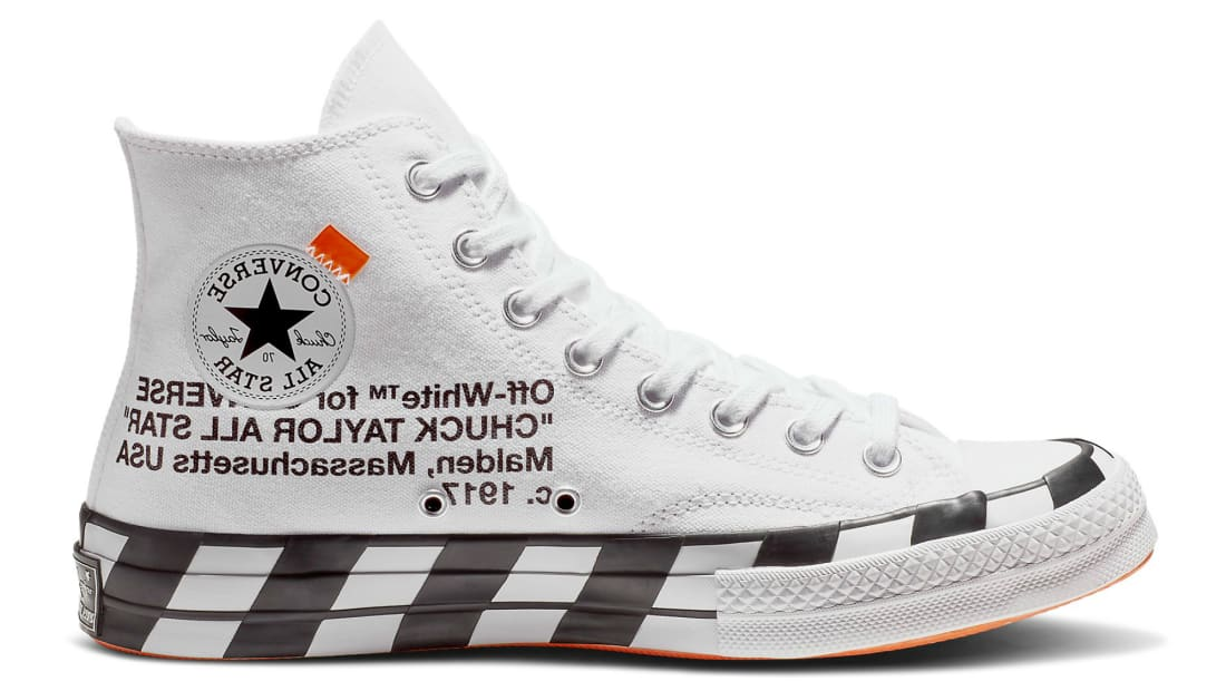 Off-White x Converse Chuck Taylor 70 Hi Optical White