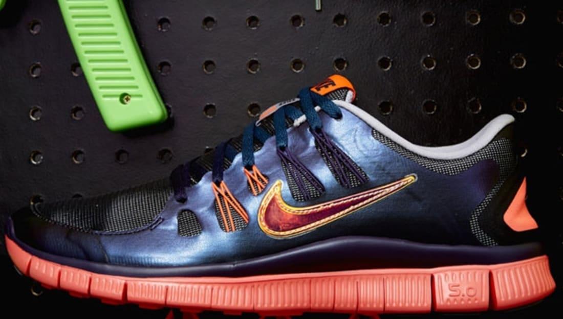 Jake's Nike Free Run 5.0 DB Doernbecher