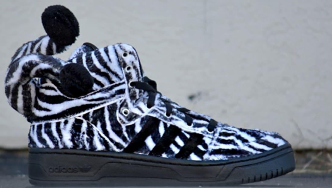 adidas JS Zebra Black/White