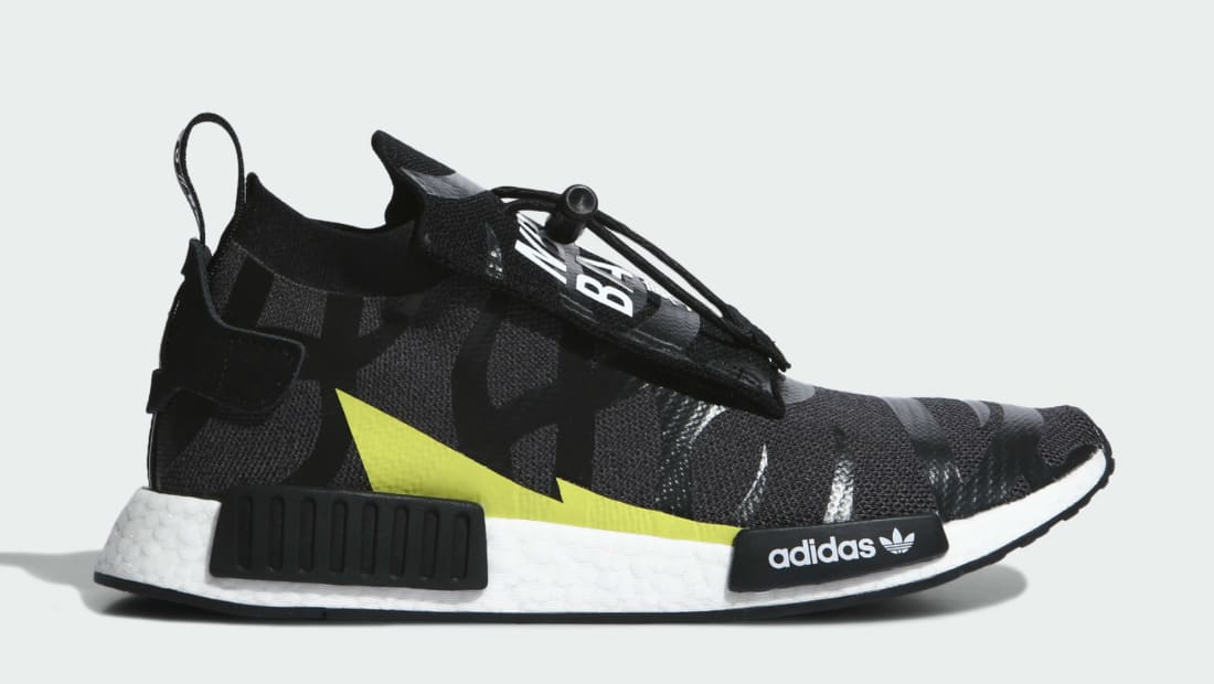 Bape x Neighborhood x Adidas NMD Stealth Core Black/Core Black/Cloud White