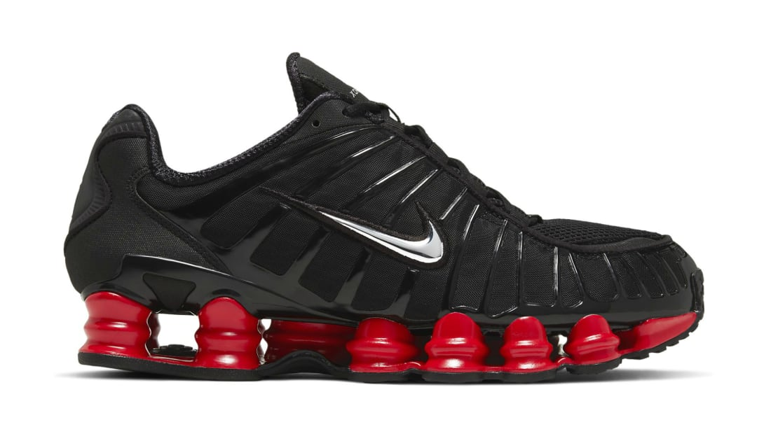 Skepta x Nike Shox TL Black/Metallic Sliver-University Red ...