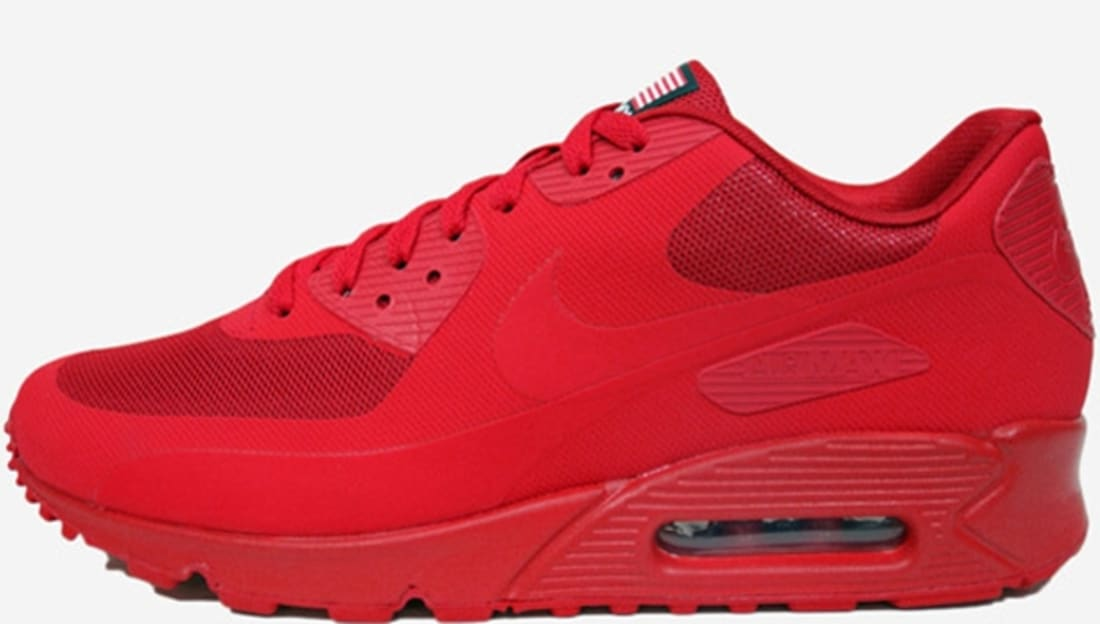 Nike Air Max '90 Hyperfuse QS USA Sport Red