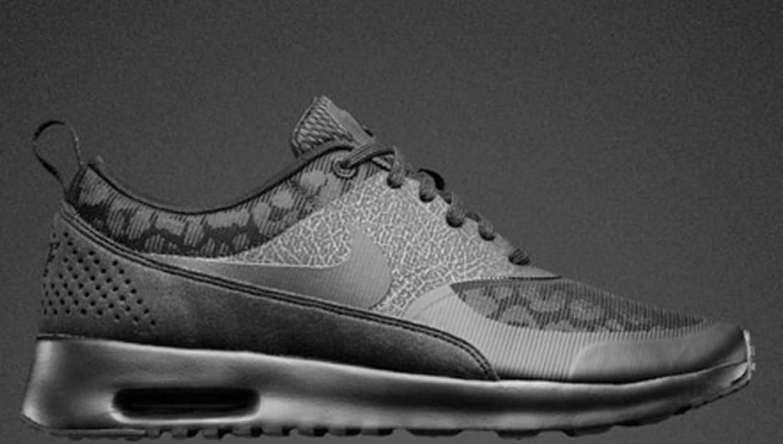 Nike Air Max Thea Women's Premium Black/Anthracite