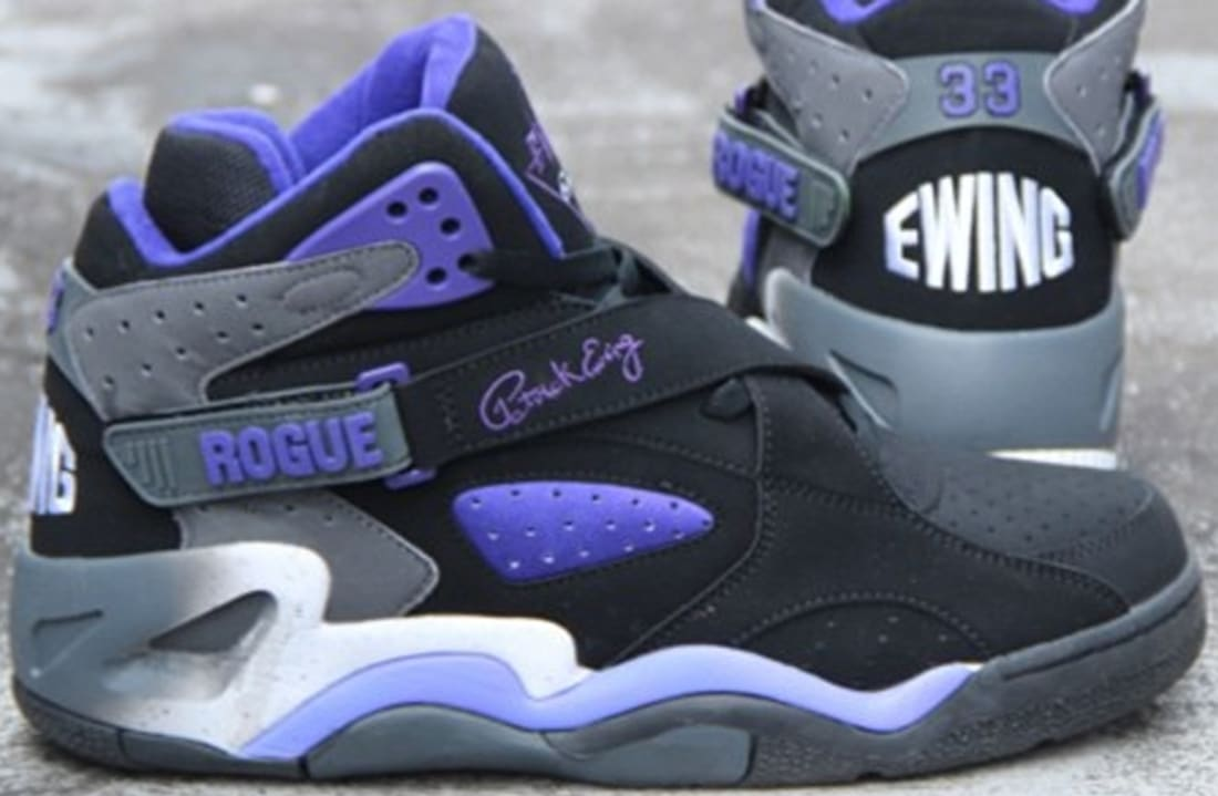 best service d94ab 3c6ab Ewing Athletics Ewing Rogue Black Purple