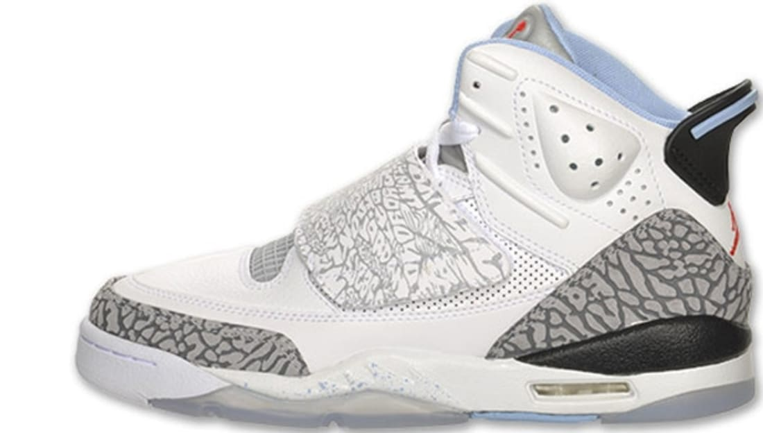 Girls Jordan Son Of Mars GS White Prism Blue-Wolf Grey  0df6a10cc