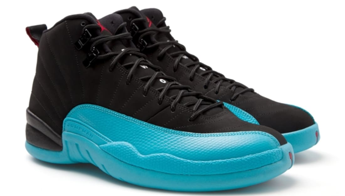 Air Jordan 12 Retro Black Gym Red-Gamma Blue  7d49100be