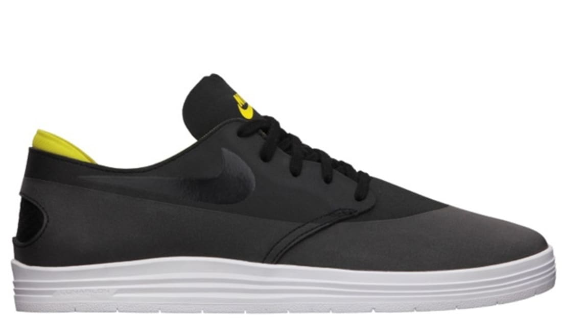 new style 470db 1923f Nike Lunar One Shot SB Black Tour Yellow