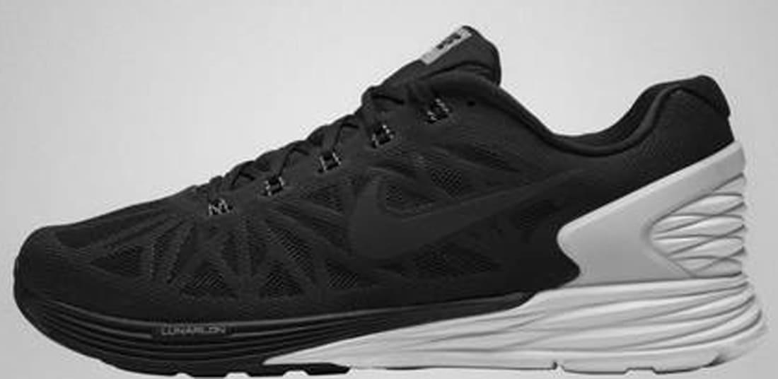 the latest fa1d4 5acaf Nike LunarGlide 6 SP Black Black-White