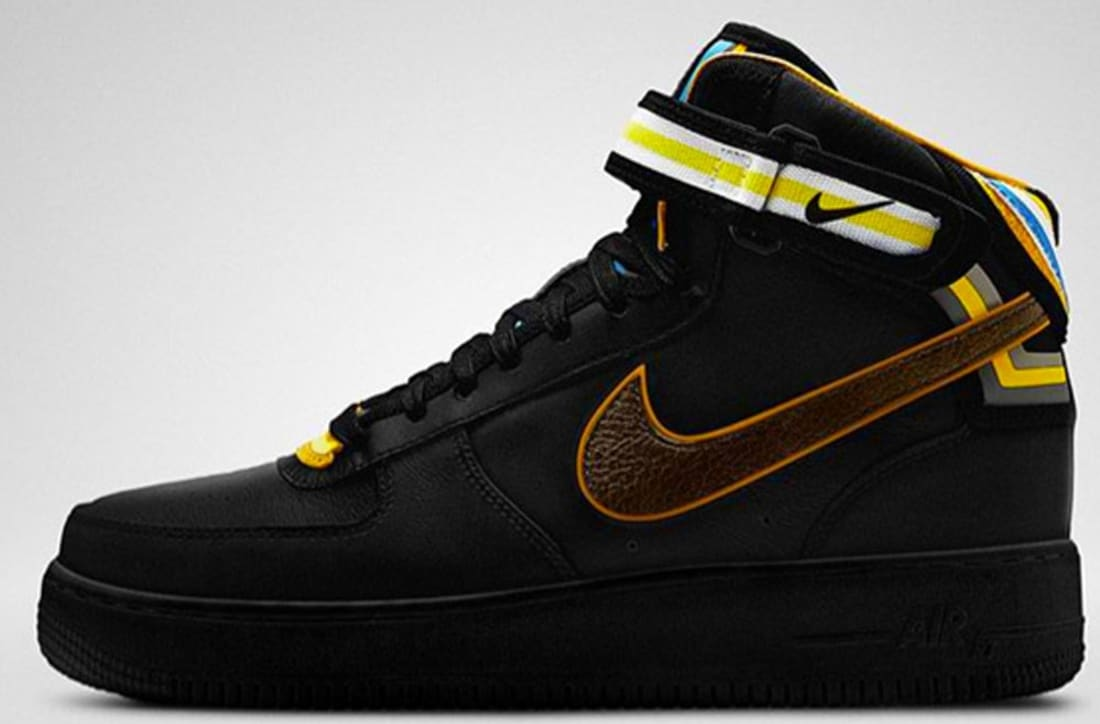 the latest e9f30 030f8 Nike Air Force 1 Mid Supreme RT Black/Baroque Brown | Nike | Sole ...