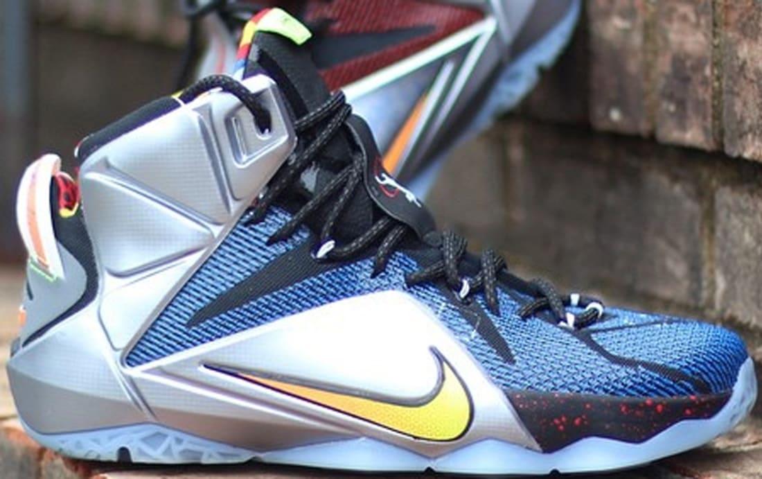 Nike LeBron 12 SE Multi-Color/Multi-Color