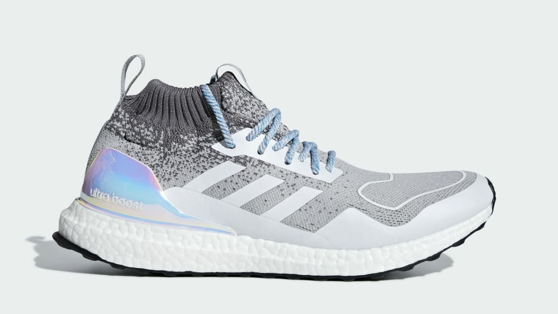 Adidas Ultra Boost Mid Light Granite/Light Granite/Metallic Silver