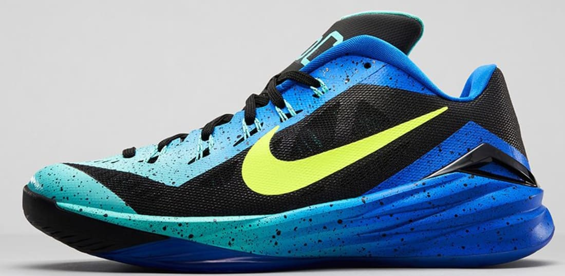 Nike Hyperdunk 2014 Low Dark Grey/Hyper Turquoise-Volt