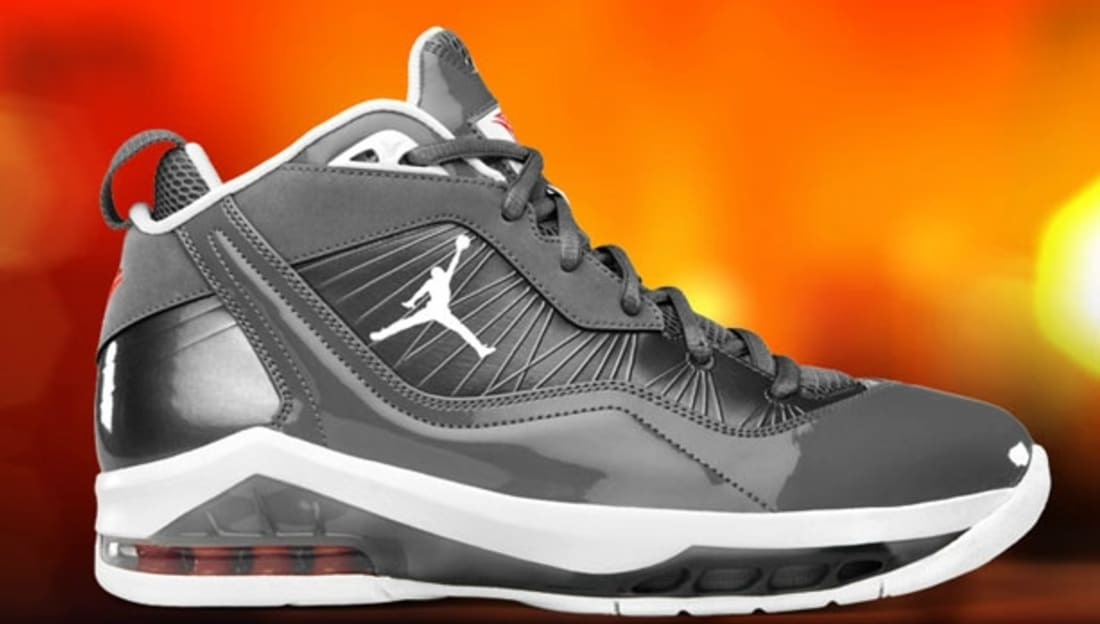 Jordan Melo M8 Cool Grey/White-Orange Flash