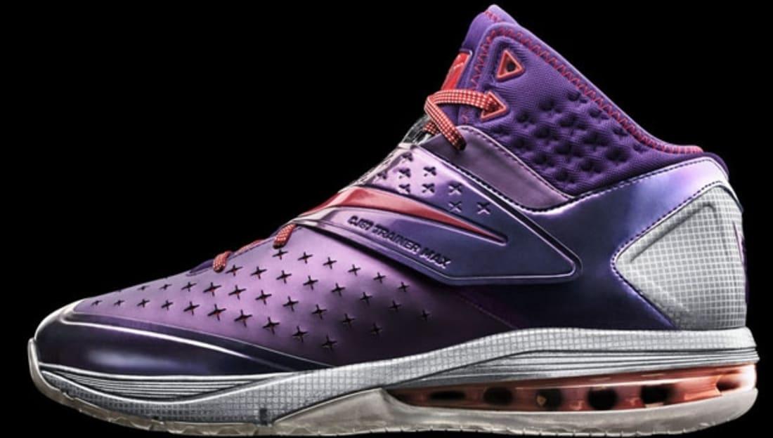 Nike CJ81 Trainer Max Court Purple/University Red-Wolf Grey