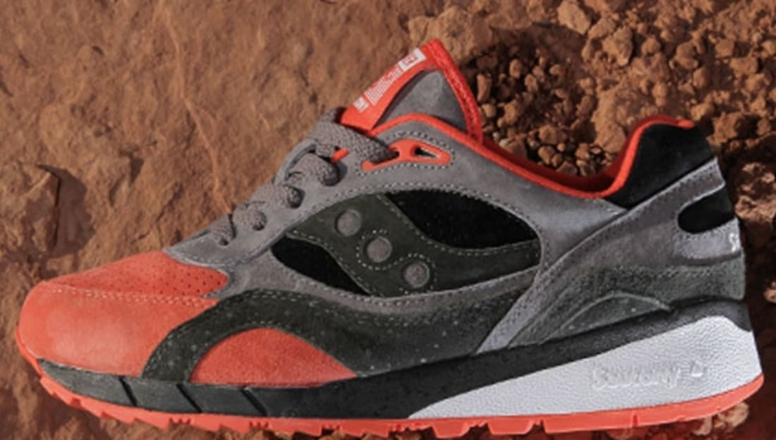 promo code 8edea cef9e Saucony Shadow 6000 Black/Grey-Red | Saucony | Sole Collector