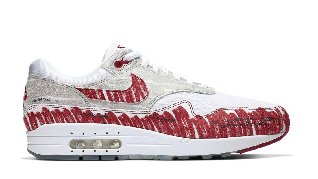 Nike Air Max 1 Sketch To Shelf University Red