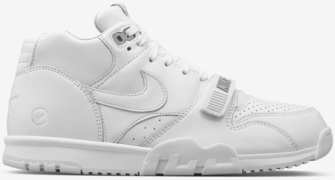 7f3b46ced76b0d Nike Air Trainer 1 Mid Premium White Wolf Grey-White