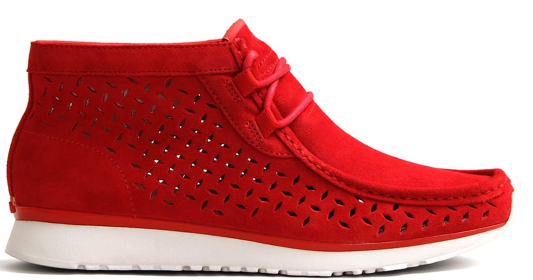 Clarks Tawyer Red/Red