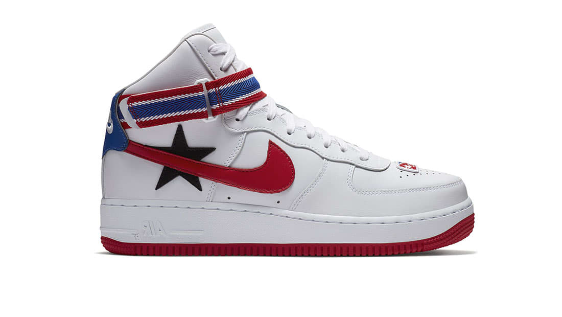 1479ce133fa Nike · Nike Air Force 1 · Nike Air Force 1 High. NikeLab x RT Air Force 1  White