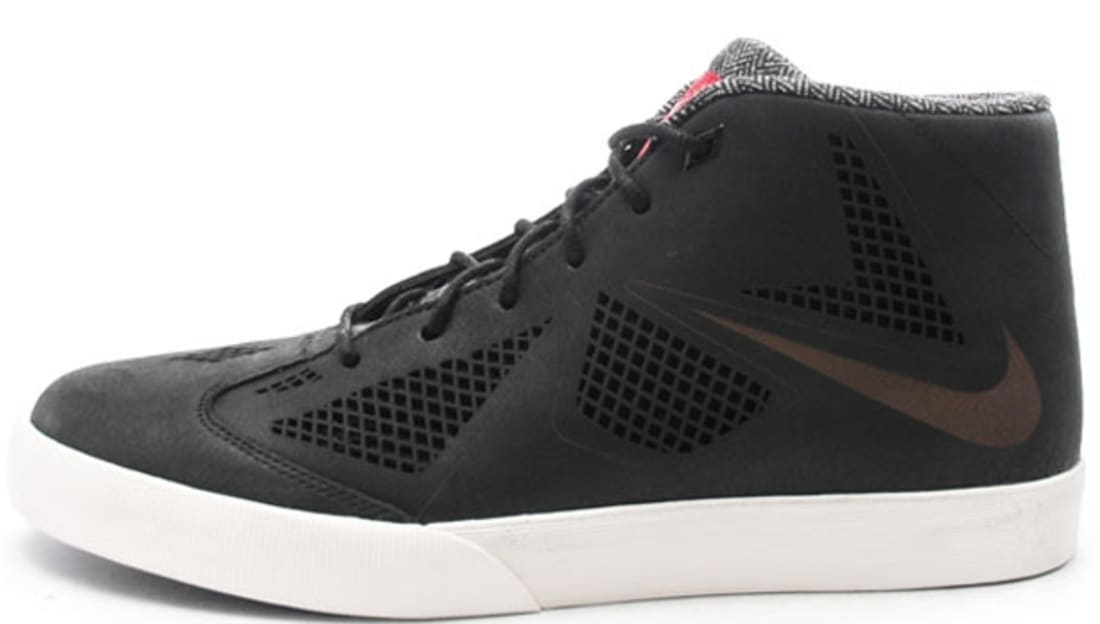 Nike LeBron X NSW Lifestyle LE Black/Black-Sail-University Red