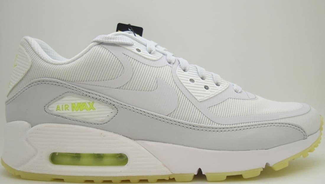 Nike Air Max 90 CMFT Premium Tape *Glow in the Dark* (white geyser grey lab green)