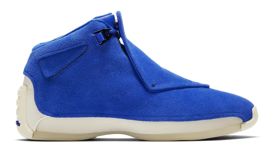 Air Jordan 18 Retro Racer Blue/Racer Blue-Sail