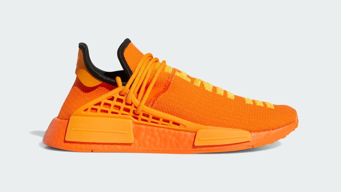 Pharrell x Adidas NMD HU (Bright Orange)