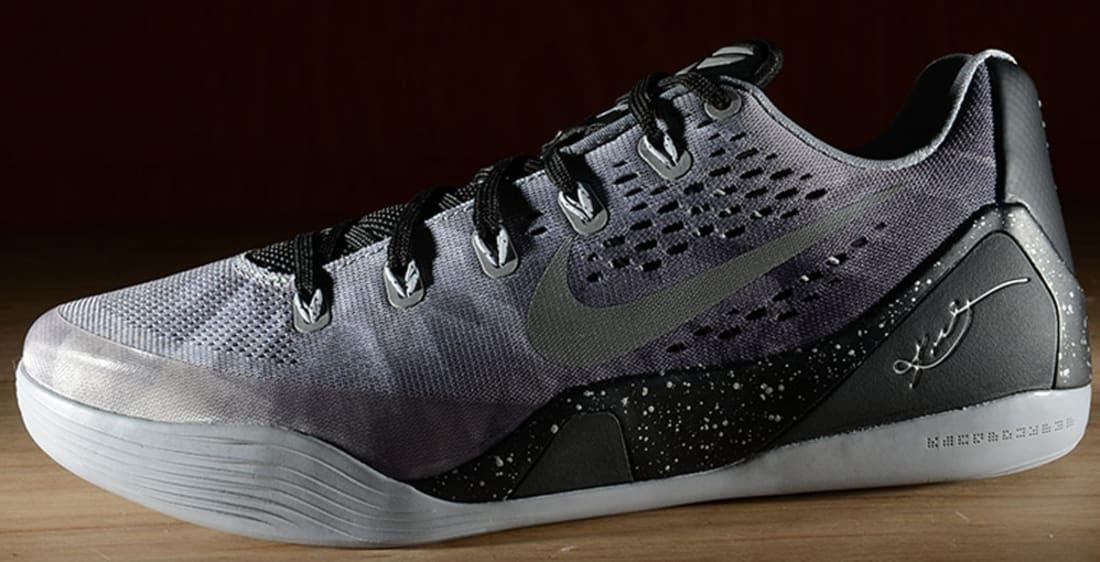 Nike Kobe IX Premium Black/Metallic Silver