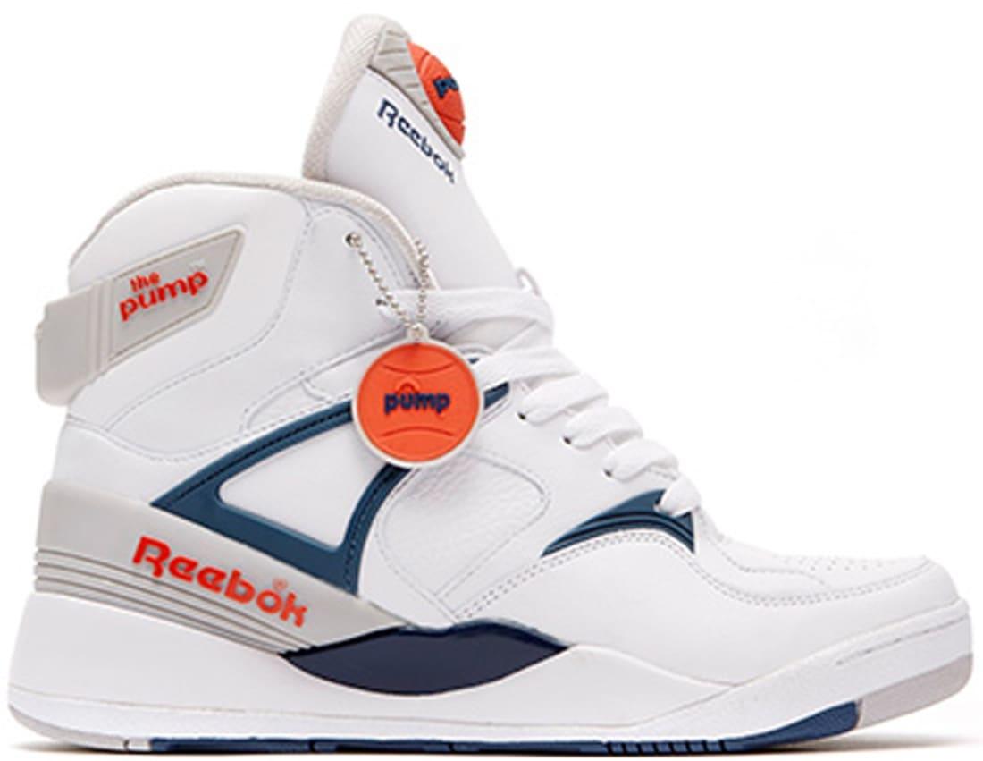 the best attitude 32d23 af3c5 Reebok The Pump Certified White/Royal-Sheer-Orange | Reebok ...