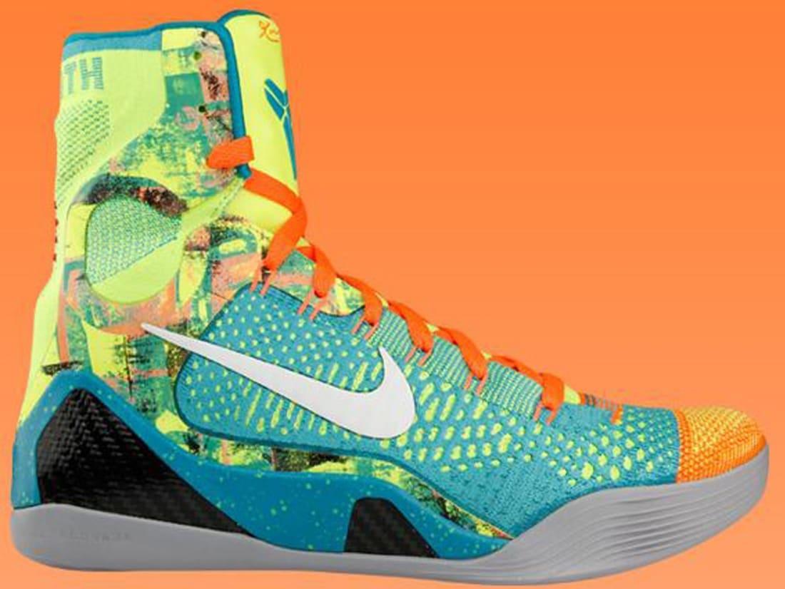 d67cb7873f33 Nike · Nike Kobe · Nike Kobe 9 (IX). Nike Kobe 9 Elite Sport Turquoise White -Volt-Total Orange