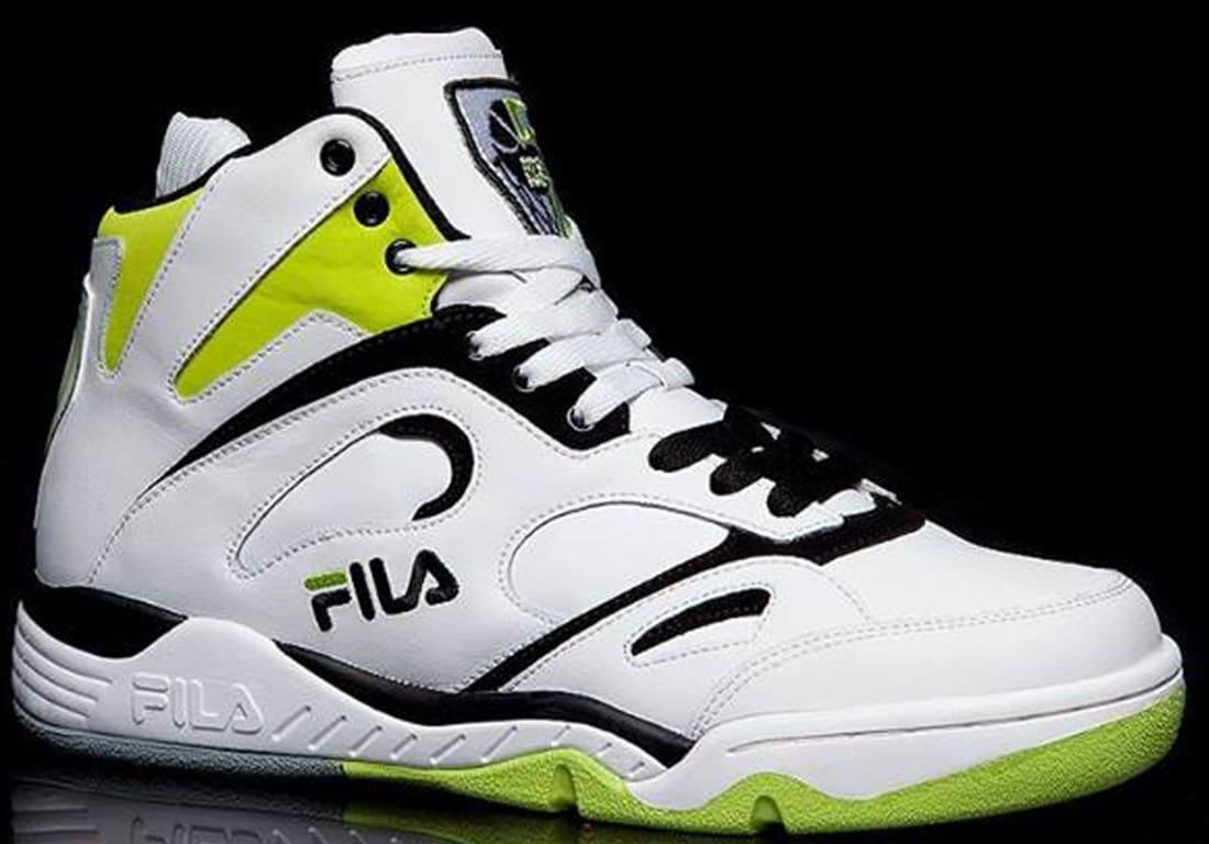 Fila KJ7 White/Neon Green-Black