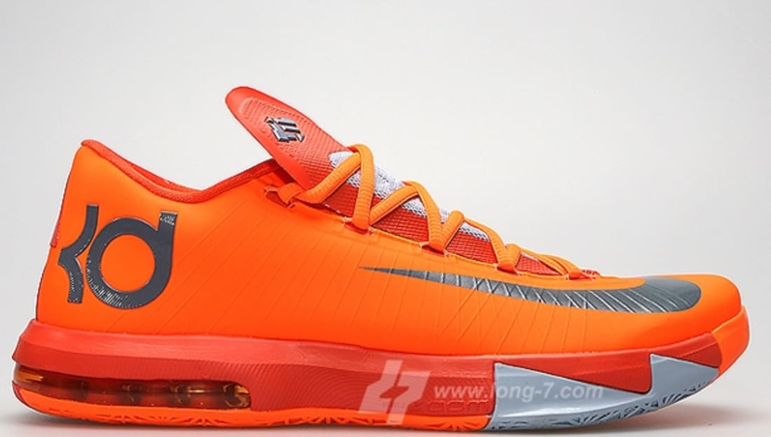 Nike KD 6 NYC 66 Total Orange  8c9ed8402b07