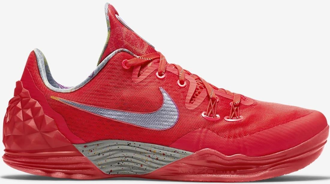 quality design 3e5b2 00b1b Nike Zoom Kobe Venomenon 5 LMTD Light Crimson/Multi-Color ...
