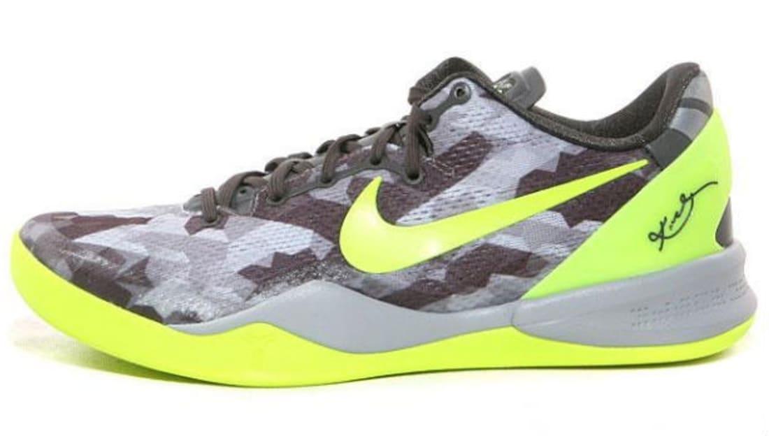 5ed77d288e9a Nike · Nike Kobe · Nike Kobe 8 (VIII). Nike Kobe 8 System Sport Grey Volt