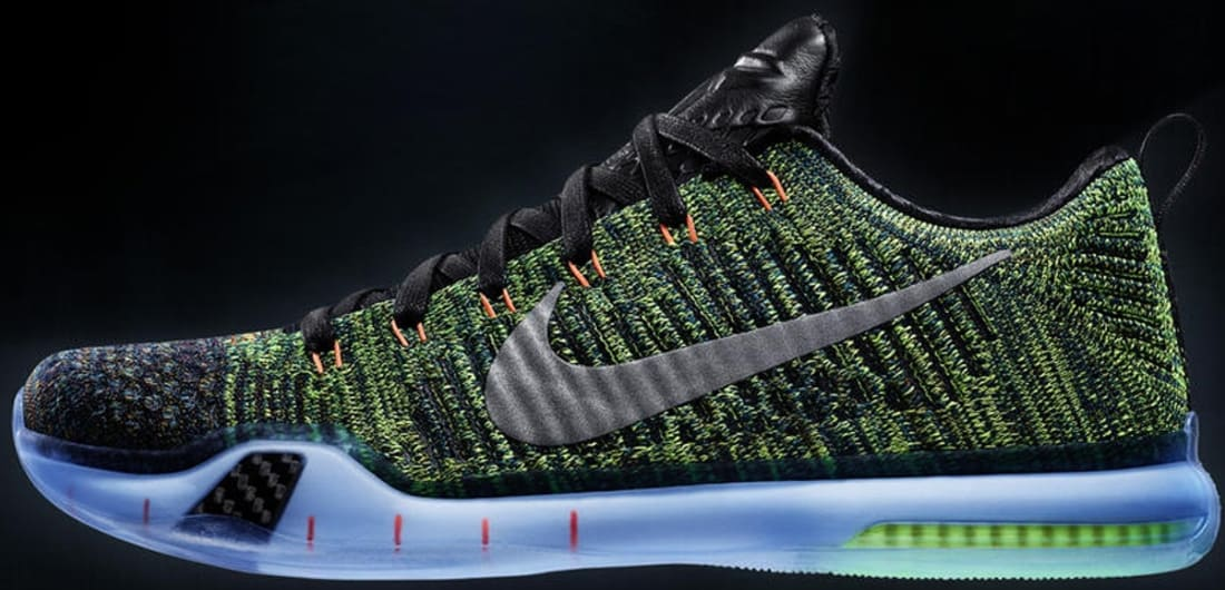 Nike Kobe X Elite Low Premium Multi-Color/Metallic Silver