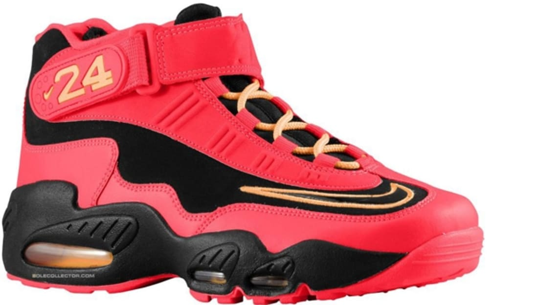 nike air griffey max 1 red and black