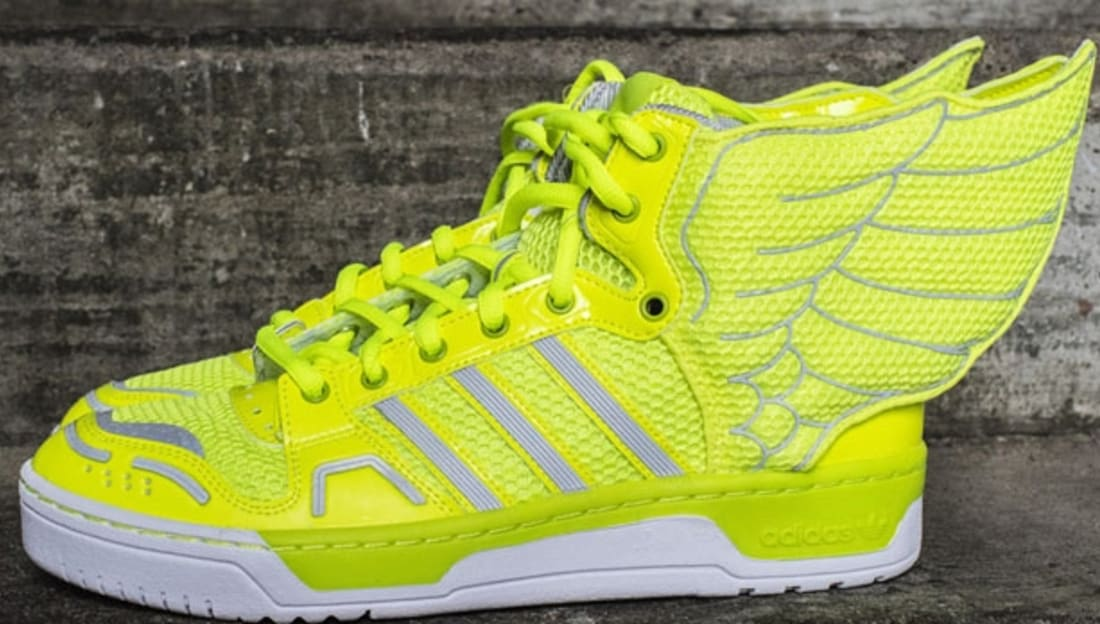 adidas JS Wings 2.0 Electricity/Metallic Silver-Running White
