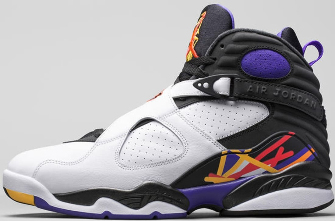 c56a118394604e Air Jordan 8 Retro White Infrared 23-Black-Bright Concord