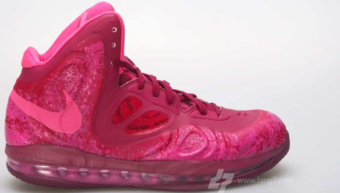 newest collection 41a60 09292 Nike Air Max Hyperposite Raspberry Red Pink Foil-Rave Pink