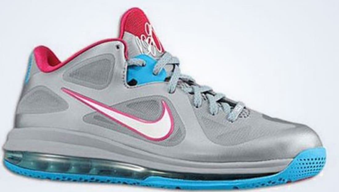 finest selection f2076 3ec60 Nike LeBron 9 Fireberry