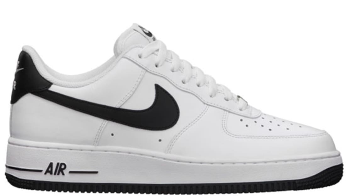 nike air force white and black